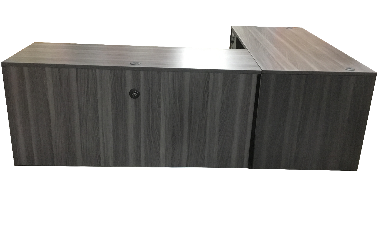 LAMINATE DESK SHELL WITH RETURN