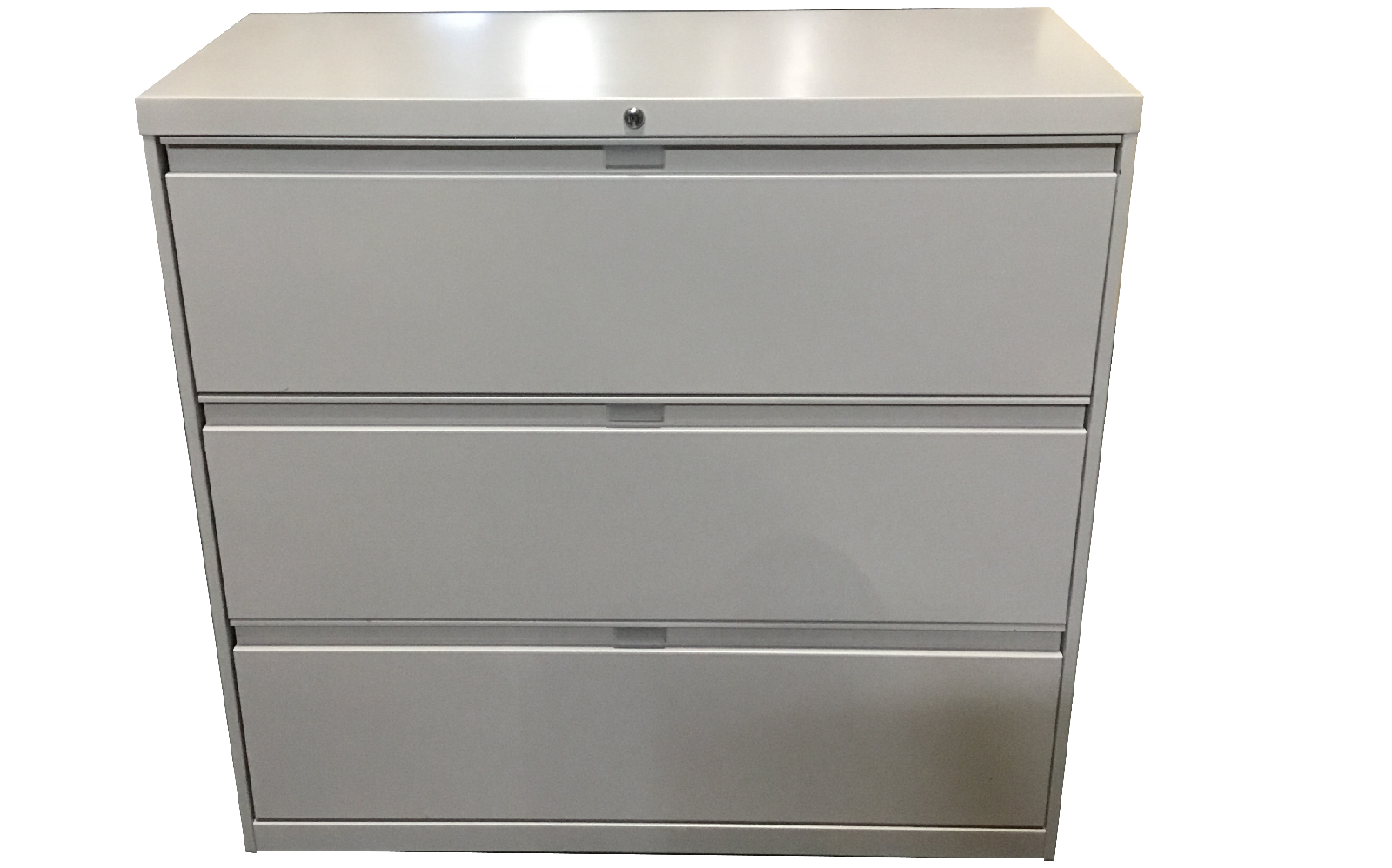 METAL LATERAL FILE CABINET