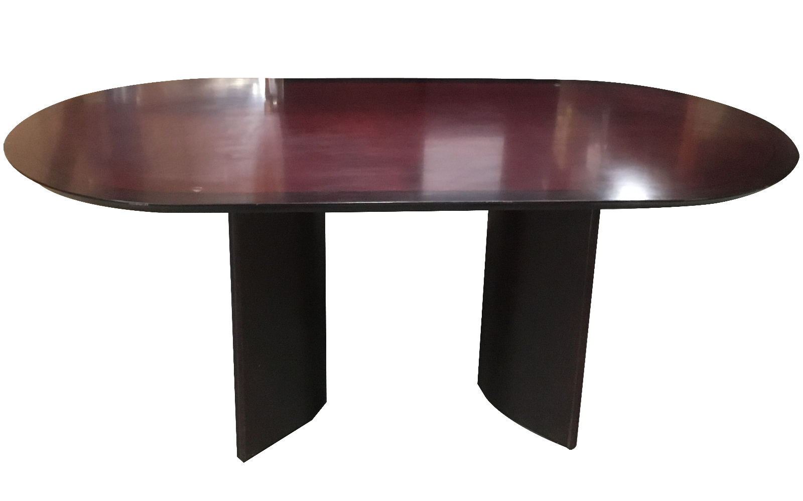OVAL CONFERENCE TABLE WITH BASE